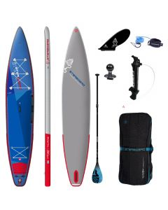 Starboard Touring Deluxe 14' iSUP - Paddleboard Bundle Includes Tiki Tech Carbon Fibre Paddle