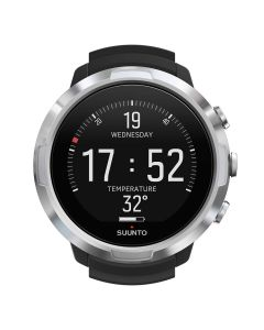 Suunto D5 Steel Watch Style Dive Computer Black | White