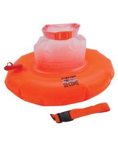 Swim Secure Open Water Swimming Tow Float Donut Orange