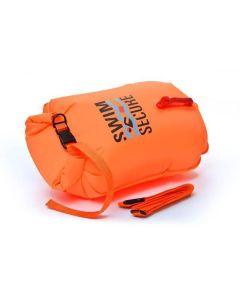 Swim Secure Open Water Swimming Towable Dry Bay 20L Orange