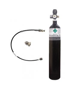 Vitkovice / MDE Airgun Charging Cylinder 300Bar 3Lt With MDE Jubilee Charging Valve