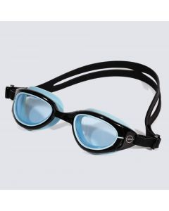 Zone3 Attack Swimming Goggles  Blue Tint Lens Black / Blue