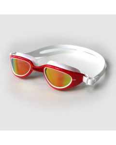 Zone3 Attack Swimming Goggles With Polarised Lenses Red/White