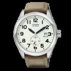 Citizen Mens Strap 100M Khaki Watch   BV1080-18A