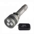 Mares EOS 15RZ Rechargeable Diving Torch - 1504 Lumens Dive Torch