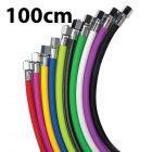 "Miflex 100cm Regulator Hose 3/8"" UNF Male Fitting"