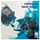 PADI Advanced Open Water Diver Manaul - Delux Data Carrier