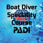 PADI Boat Diver Speciality Course