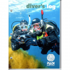 PADI Diver's Log Book - Red - Without Training Record