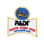 PADI Master Scuba Diver Emblem/Badge