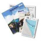 PADI Open Water Diver Crewpak with RDP Table, Metric