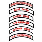PADI Drysuit Speciality Emblem / Chevron