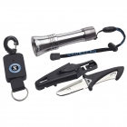 Scubapro BCD Accessory Kit - BCD knife - Torch - Extender
