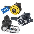 Scubapro MK25 EVO S620Ti Regulator DIN + R195 Octopus