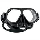 Scubapro Steel Comp Freeding Mask - Black, Clear & White