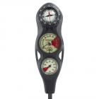 Scubapro U-Line 3 Gauge Analog Console - Contents,  Depth & Compass