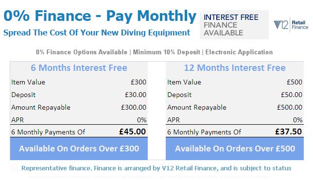 Dive Shop Online Finance Options